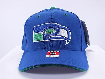 Seattle Seahawks Nfl Adult Fitted Cap By American Needle (D81)