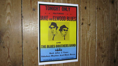 The Blues Brothers Repro Tour POSTER