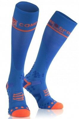 Compressport Full Sock V2.1 blue. Neu!