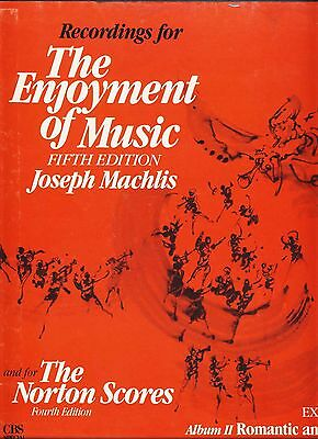 Basic Recordings for The Enjoyment of Music Fifth Edition - audio cassettes