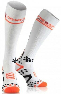 Compressport Full Sock V2.1 white. Neu!