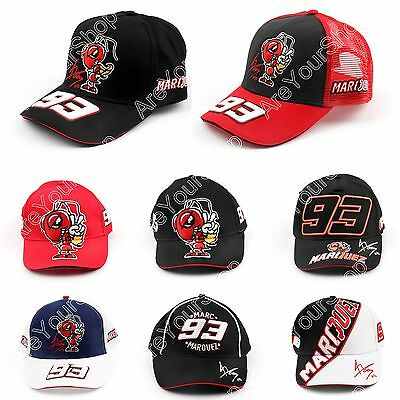 Motocycle Racing Moto GP Marc Marquez 93 Baseball Hat Peaked Cap Hats For Men