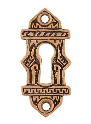 Oriental pattern Escutcheon Eastlake bronze