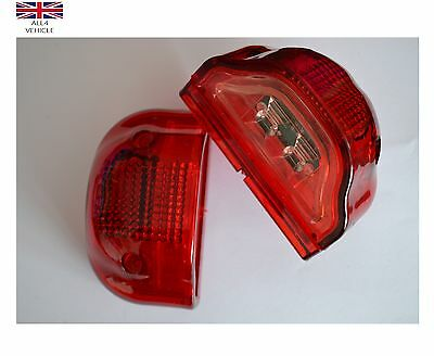 2 X 12V Led Rear Tail Marker Lights Number Plate Truck Trailer Lorry