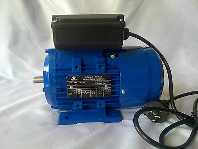 Electric motor single-phase 240v 0.12kw 1410rpm