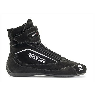 Sparco Top SH-5 Racing Shoes, SFI FIA, Anti Slip, Red, Euro Size37