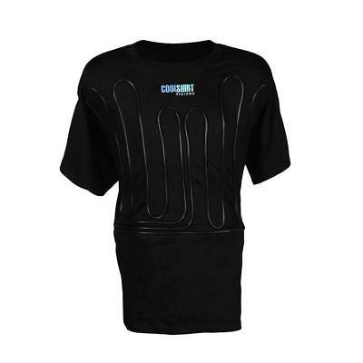 CoolShirt Systems Black Cool Water Shirt, Size XXX-Large