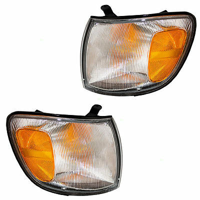 1998 1999 2000 Toyota Sienna Turn Signal Lamp Light Left And Right Pair Set