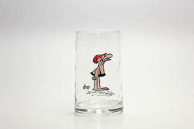 VTG ARBY'S 1981 B.C. COMIC ICE AGE COLLECTORS SERIES DRINKING GLASS HART Caveman