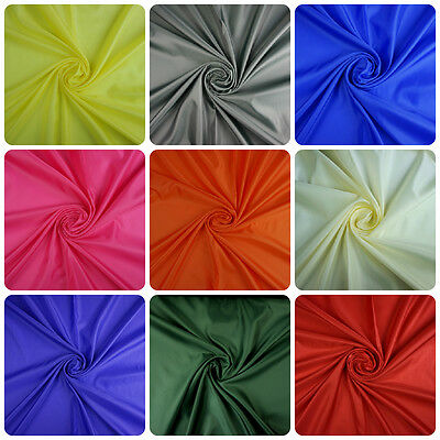 Anti Static 100% Polyester Dress Lining Fabric - Various Colours (Per Metre)