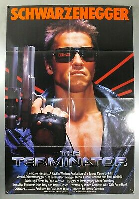 The Terminator - Arnold Schwarzenegger - Original American 1Sht Movie Poster