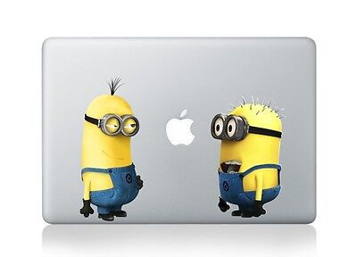 "Despicable Me Apple Macbook Air/Pro 13"" Removable Vinyl Sticker Skin Decal"