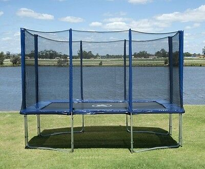 8X12FT Trampoline with Enclosure