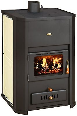 WoodBurning Stove Integral Boiler Fireplace Log  29kw Prity WD W24 DIFF. COLORS