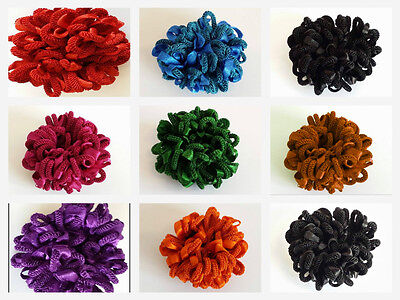 Volumising Scrunchie Hair Tie Bun Clip Hijab Volumizer Scarf 11cm