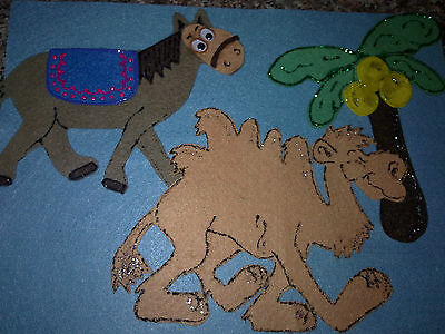 Felt Board Story Educational Teacher Resource - Alice The Camel