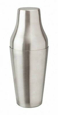 French Shaker 600ml Stainless Steel Cocktail Mezclar Bar Pub Catering mixology