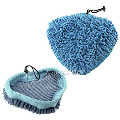 2 Coral Cloths Covers Pads for DIRT DEVIL DSS04-E01 DDS04-P01 11 in 1 Steam Mop
