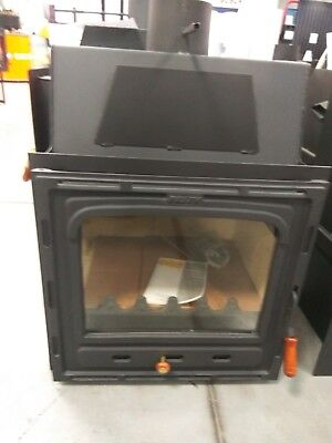 Inset Insert Modern Multi Fuel Built in Wood Burning Fireplace Stove Prity CM