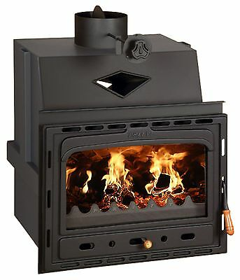 Inset Insert Fireplace Cast Iron Multi Fuel Built in Wood Burning Stove Prity C