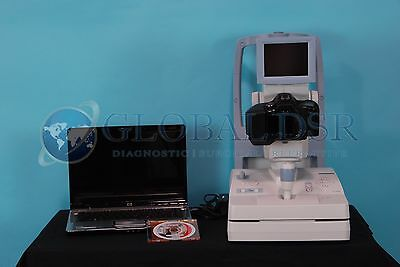 Canon CR-1 Mark II Digital Retinal Fundus Camera w/ EOS 50D SLR, RICS Software