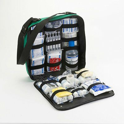 123pc First Response Emergency First Aid Kit - EMT, Medics, Sports, Events