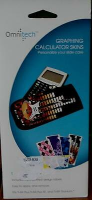 Omnitech Graphing Calculator Skins - Personalize Your Slide Case - BRAND NEW