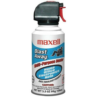 NEW Maxell 190027 - Ca5 Mini Blast Away Canned Air