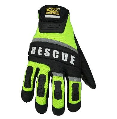 New! Ringers Gloves Two Layer Fingertip Design Rescue Glove Size Medium 347-09