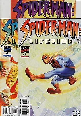 SPIDER-MAN: LIFELINE Limited series (3 issues) Marvel, 2001 Original edition USA