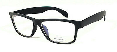 FOCUS ANTI-GLARE Computer Glasses Reduce Blue light Modern Square Matte Black