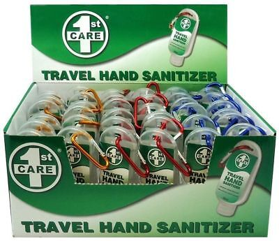 36x Travel Hand Sanitiser Sanitizer Anti Bacterial - NEW Bulk Wholesale Lot