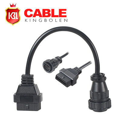 OBDII 14pin To 16pin Diagnostic Converter Tool Adapter Cable For Benz Sprinter