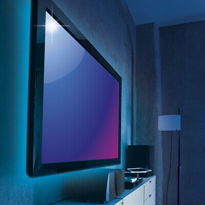duo usb led tv hintergrund led stimmungslicht indirekte. Black Bedroom Furniture Sets. Home Design Ideas