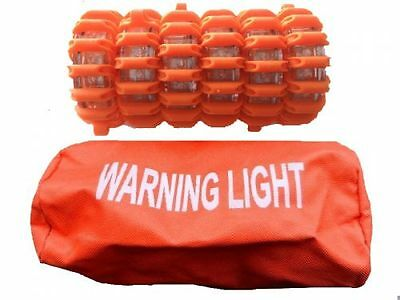 LED Warnblitzleuchten / Pannenleuchten Set (orange)