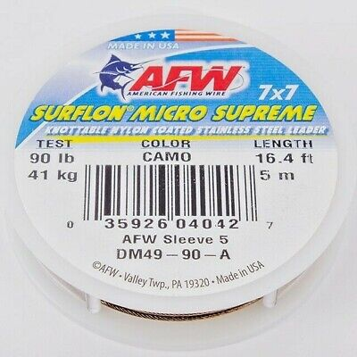 AFW Surflon Micro Supreme Knotable Wire