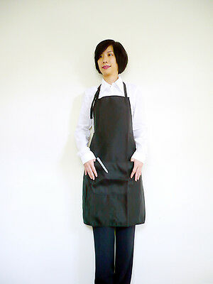 Hairdressing Nylon Apron Gown Barbers Stylist Hair cutting salon Beauty G-07BL