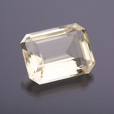 Quarzo citrino 22x16,5mm 8-Eck Peso: 28,03 Ct 72)