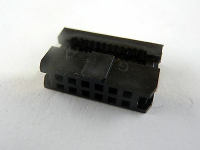 20 12 Pin 2x6 2.0mm Pitch IDC FC-2.0 Female Wire Header Connector for Flat Cable