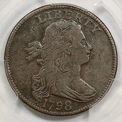 1798 S-147 R-5 PCGS VF 20 1st Hair Style Draped Bust Large Cent Coin 1c