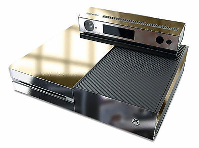 Skin decal sticker for xbox one skins mirror gold chrome for Mirror xbox one