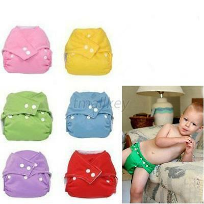 Coolbaby One Size Reusable Baby Breathable Baby Infant Washable Cloth Diaper T12