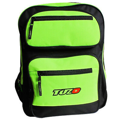 Tuzo Fluorescent Yellow Motorcycle Rider Rucksack Back Pack