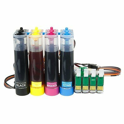 Ciss refillable ink System for EPSON XP-225 XP-325 XP425 XP422 XP312 XP322 + INK