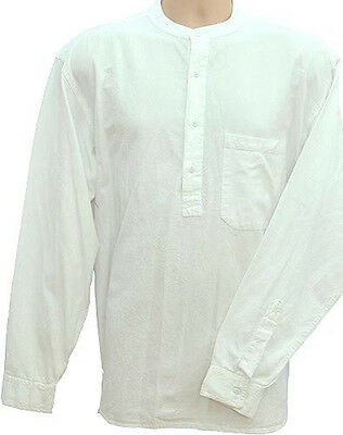 Grandad Shirt The Original half /button Classic real Quality for over 35 years