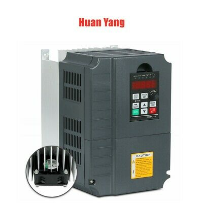 Top Quality 7.5Kw 10Hp 34A 220Vac Vfd Variable Frequency Drive Inverter