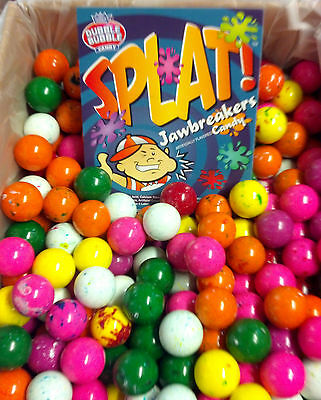 "Dubble Bubble Splat 1"" Jawbreakers Candy - 5 lbs"