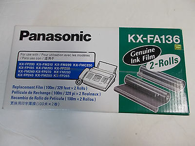 Panasonic Replacement Film KX-FA136 Fax Machine 1 roll 100m/328ft