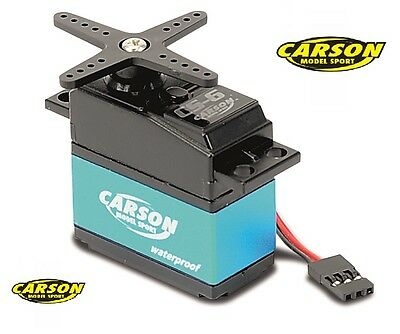Carson Waterproof Servo CS-6 500502041 / JR Stecksystem, MG/6Kg