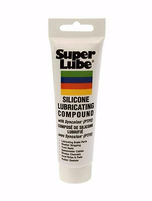 Super Lube® Silicone Lubricating Brake Grease with PTFE 8 oz Tube Case of 12